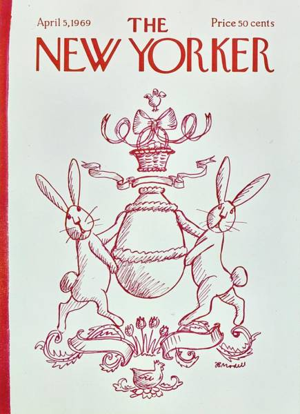 Wall Art - Painting - New Yorker April 5th 1969 by Frank Modell