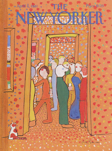 1981 Painting - New Yorker April 6th, 1981 by Andre Francois