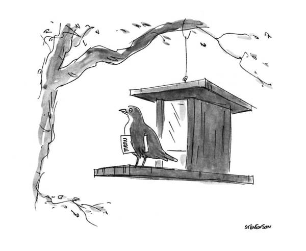 April 6th Drawing - New Yorker April 6th, 1992 by James Stevenson
