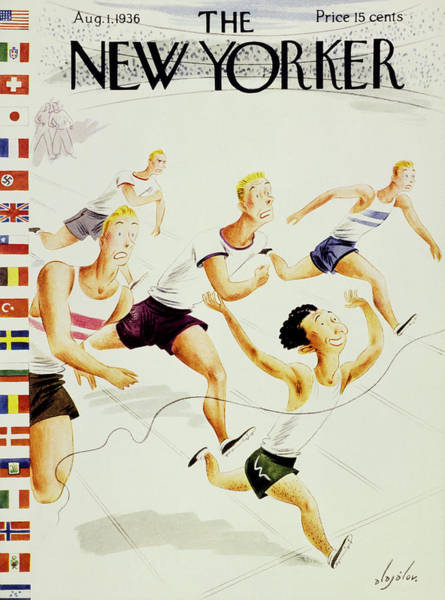1 Painting - New Yorker August 1 1936 by Constantin Alajalov