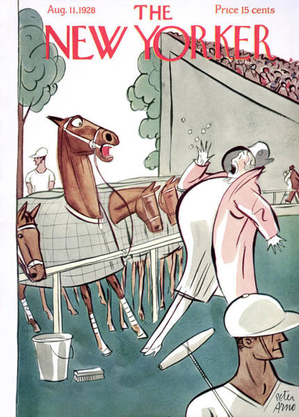 Polo Painting - New Yorker August 11th, 1928 by Peter Arno