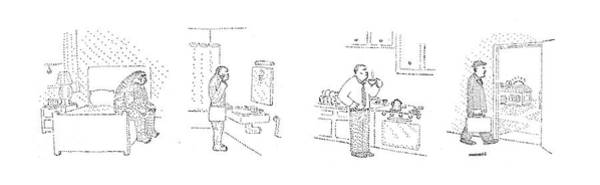 Wall Art - Drawing - New Yorker August 11th, 1980 by Robert Mankoff