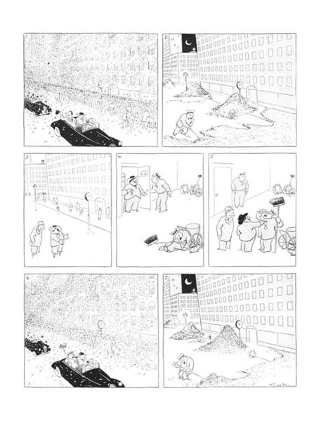 Manhattan Drawing - New Yorker August 16th, 1941 by Alfred Frueh