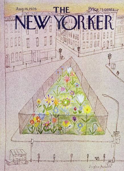 New Yorker August 16th 1976 Art Print