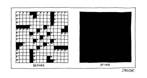 Hobbies Drawing - New Yorker August 17th, 1987 by Jack Ziegler