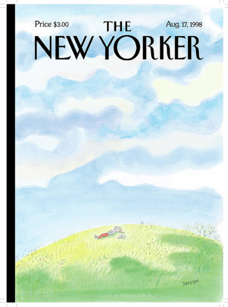 1998 Painting - New Yorker August 17th, 1998 by Jean-Jacques Sempe