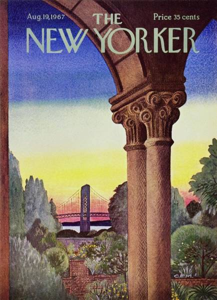 Washington Painting - New Yorker August 19th 1967 by Charles Martin