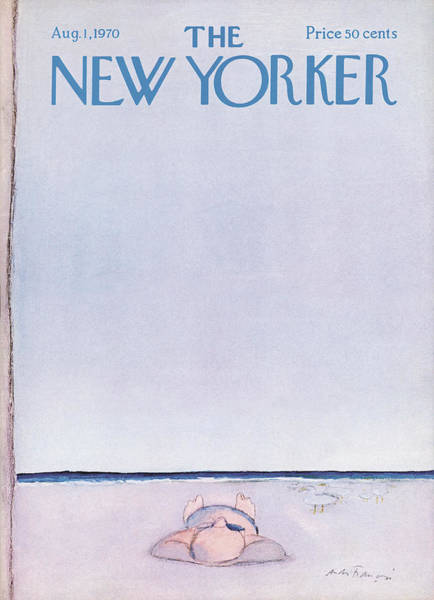 Nautical Painting - New Yorker August 1st, 1970 by Andre Francois