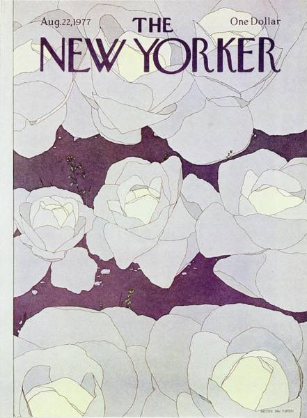 Wall Art - Painting - New Yorker August 22nd 1977 by Gretchen Dow Simpson
