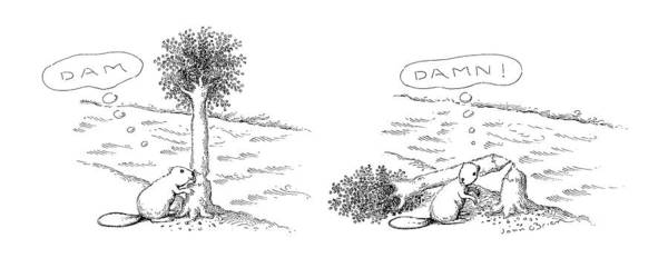 Animal Place Wall Art - Drawing - New Yorker August 22nd, 1988 by John O'Brien