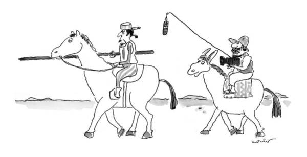 1998 Drawing - New Yorker August 24th, 1998 by Arnie Levin