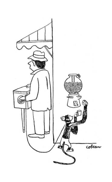 Street Machine Wall Art - Drawing - New Yorker August 26th, 1944 by Sam Cobean