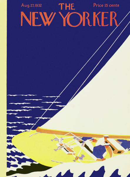 Wall Art - Painting - New Yorker August 27 1932 by S. Liam Dunne