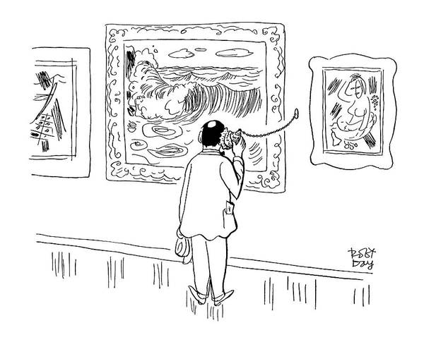 The Specials Drawing - New Yorker August 28th, 1954 by Robert J. Day