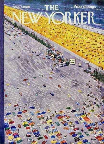 2 Painting - New Yorker August 2nd 1969 by Anatole Kovarsky