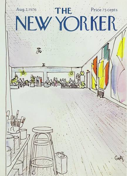 2 Painting - New Yorker August 2nd 1976 by Arthur Getz