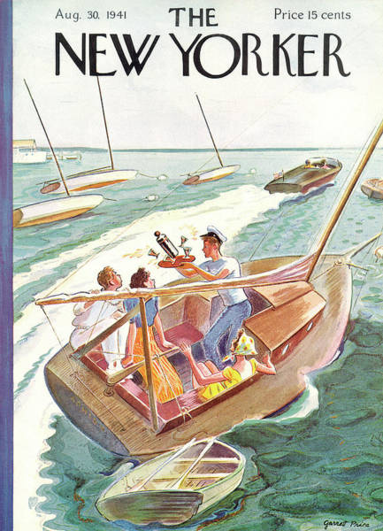 Nautical Painting - New Yorker August 30th, 1941 by Garrett Price