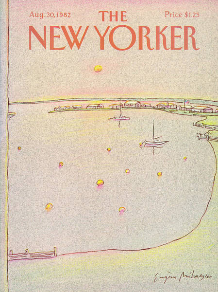 Nautical Painting - New Yorker August 30th, 1982 by Eugene Mihaesco