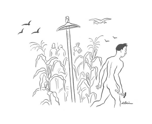 Agriculture Drawing - New Yorker August 31st, 1940 by  Alain