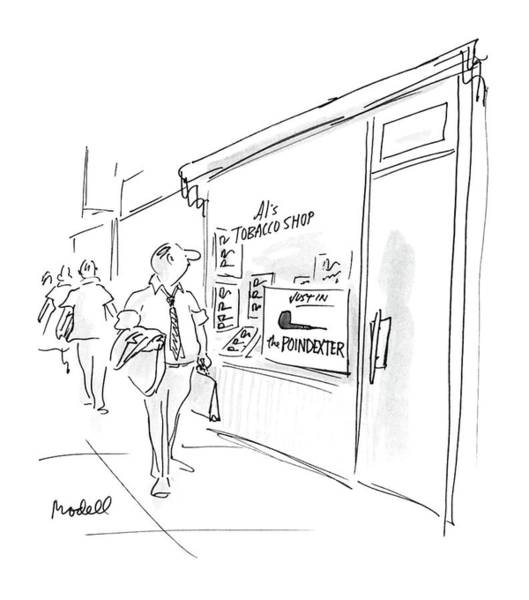 No Smoking Wall Art - Drawing - New Yorker August 3rd, 1987 by Frank Modell