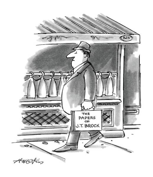 Arrogance Drawing - New Yorker August 4th, 1986 by Henry Martin