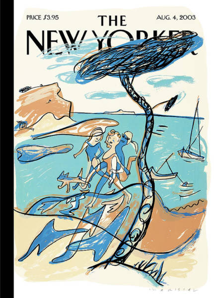 2003 Painting - New Yorker August 4th, 2003 by  Mariscal