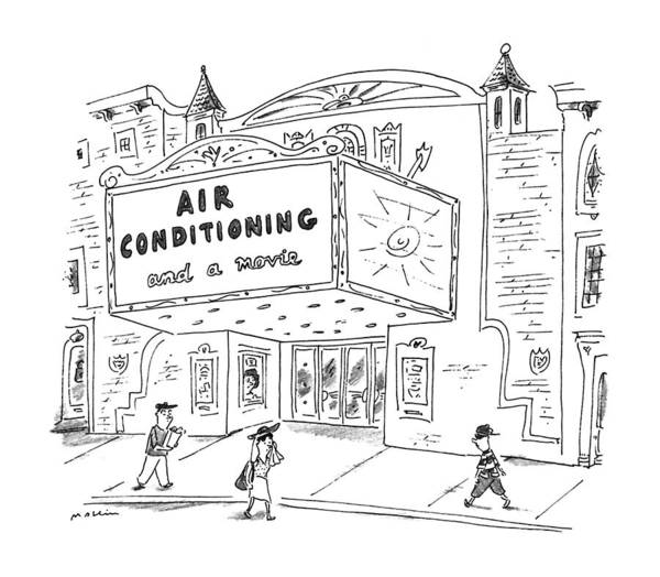 August 5th Drawing - New Yorker August 5th, 1996 by Michael Maslin