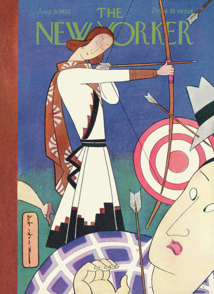 Spectator Painting - New Yorker August 9th, 1930 by Rea Irvin