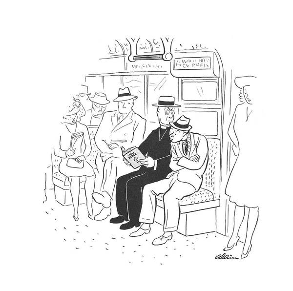 Christianity Drawing - New Yorker August 9th, 1941 by  Alain