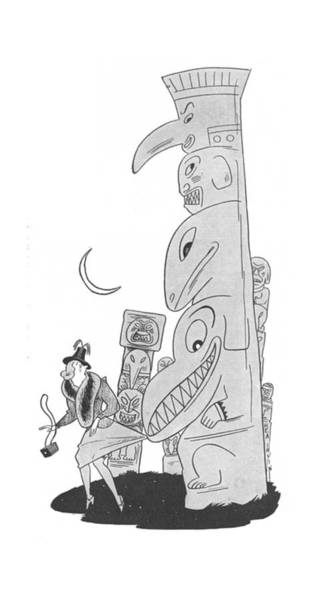 Tribe Drawing - New Yorker August 9th, 1941 by Rea Irvin