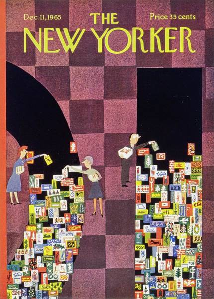 Wall Art - Painting - New Yorker December 11th 1965 by Charles Martin