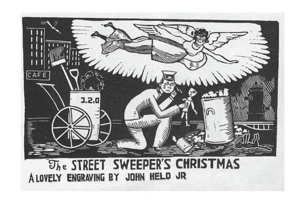 Trash Drawing - New Yorker December 12th, 1925 by Jr., John Held