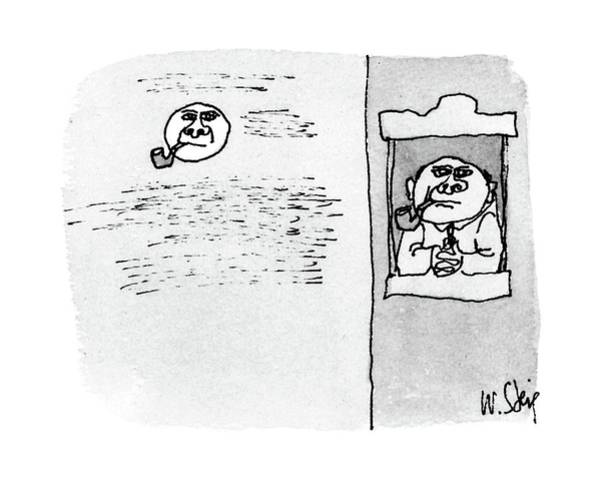Same Drawing - New Yorker December 12th, 1988 by William Steig