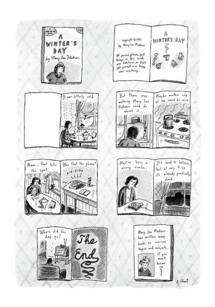 Title Page Wall Art - Drawing - New Yorker December 14th, 1987 by Roz Chast