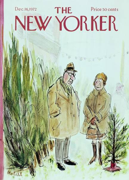 Wall Art - Painting - New Yorker December 16th 1972 by Frank Modell