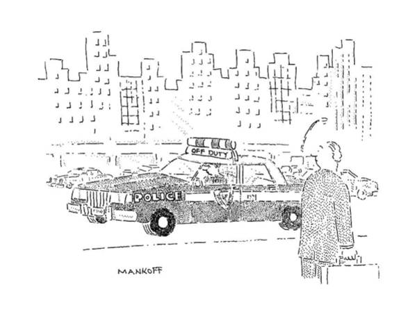 Duty Drawing - New Yorker December 16th, 1991 by Robert Mankoff