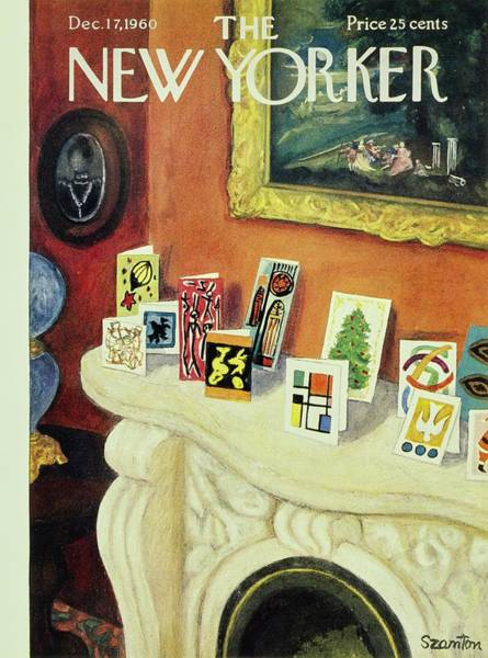Wall Art - Painting - New Yorker December 17th 1960 by Beatrice Szanton