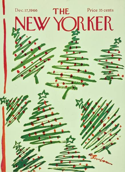 Wall Art - Painting - New Yorker December 17th 1966 by Aaron Birnbaum