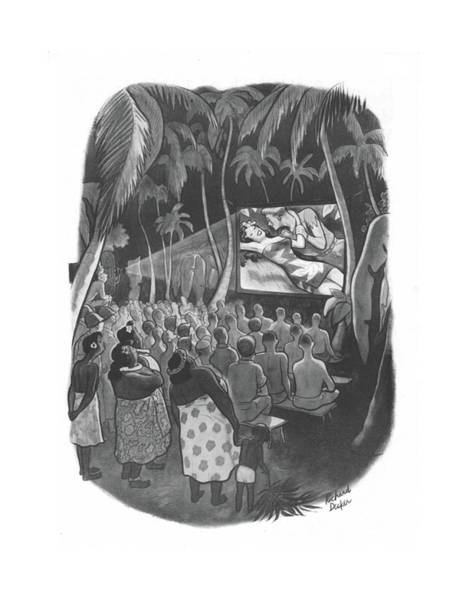 Tribe Drawing - New Yorker December 18th, 1943 by Richard Decker