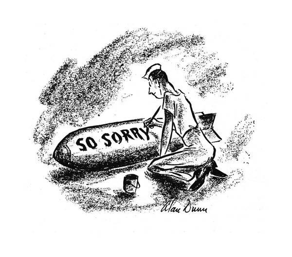 Innocence Drawing - New Yorker December 20th, 1941 by Alan Dunn