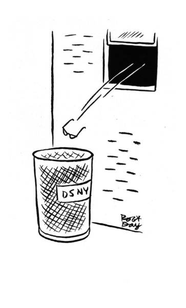 Trash Drawing - New Yorker December 20th, 1941 by Robert J. Day