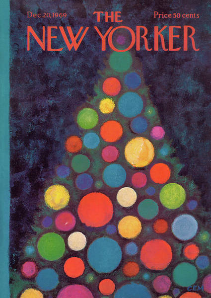 Painting - New Yorker December 20th, 1969 by Charles E Martin