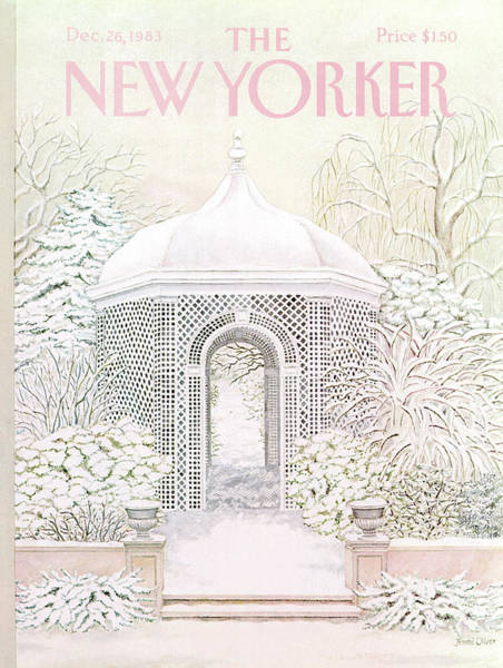 Marriage Painting - New Yorker December 26th, 1983 by Jenni Oliver