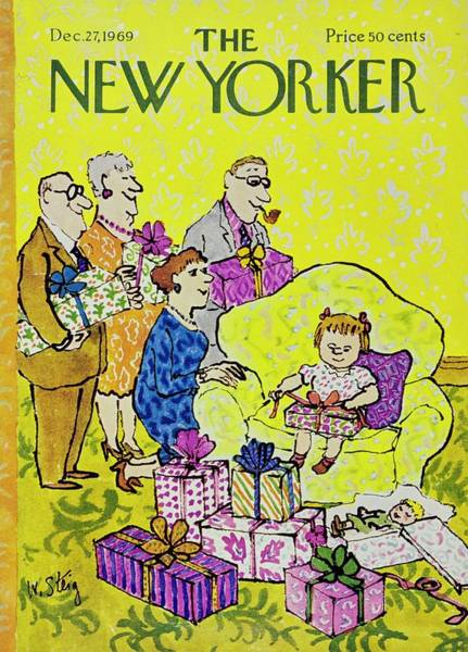 Wall Art - Painting - New Yorker December 27th 1969 by William Steig