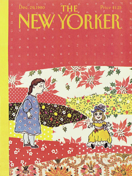 Painting - New Yorker December 29th, 1980 by William Steig
