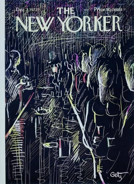 2 Painting - New Yorker December 2nd 1972 by Arthur Getz