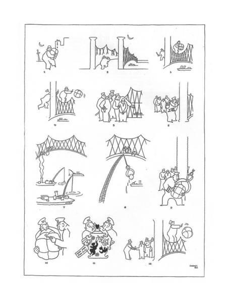Litter Drawing - New Yorker December 31st, 1932 by Gardner Rea