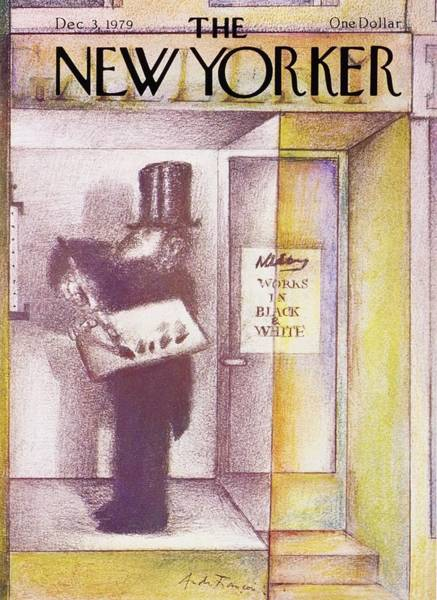 Headgear Painting - New Yorker December 3rd 1979 by Andre Francois