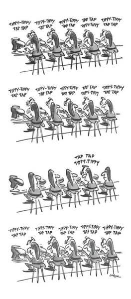 Elves Drawing - New Yorker December 6th, 1976 by Lee Lorenz