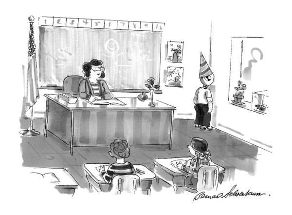 December 7th Drawing - New Yorker December 7th, 1998 by Bernard Schoenbaum